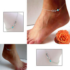New Fashion Bohemian Bead Infinity Charm Chain Anklet Bracelet Barefoot RewelryS