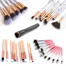 10/12Pc Marbling Professional Make-up Brush Set Brush Blusher Face Powder Beauty