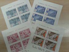 """4er Set Feldpost Briefmarke Deutsches Reich """"Legion Wallonie"""""""