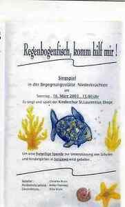 VHS Regenbogenfisch komm hilf mir! Erika Bruns, Walter Platzvoetz, Jonny Küskens