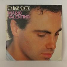 """Mario Valentino – L'amor Con Te -  Vinyl, 7"""", 45 RPM, Single - 1988 - France"""