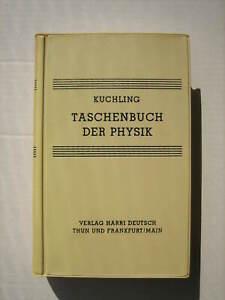 Fach Buch Taschenbuch der Physik Kuchling Verlag Harri Deutsch Thun Zustand gut