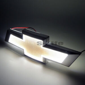 White 5D LED Car Tail Logo Light Badge Lamp Emblem For CHEVROLET CRUZE EPICA