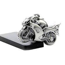 Classic 3D Simulation Model Motorcycle Motorbike Keychain Key Chain Ring Keyring