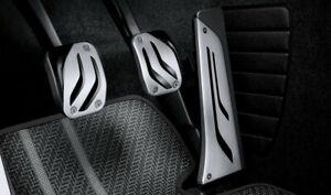 ORIGINAL BMW M Performance Edelstahl Pedalauflage Schaltgetriebe 35002232276