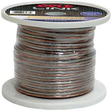 NEW Pyle PSC14500 14 Gauge 500 ft. Spool of High Quality Speaker Zip Wire