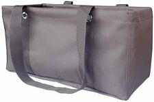 Thirty-one Medium Utility Tote Organizing Laundry Beach Travel Bag Brown