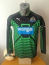 NEWCASTLE UNITED Football Shirt Retro 2014/15 Home GOALKEEPER Soccer Jersey YTH