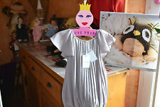 robe marese luxe neuve grande   taille 5 ans gris pume