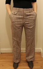 Levis Vintage Clothing Panatela Signature Collection 33x31 Trousers Pants Plaid