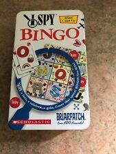 I SPY BINGO Game In Tin Briarpatch 2003 - Complete Game