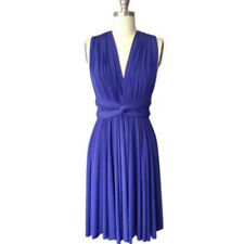 Women Convertible Multi Way Wrap Party Bridesmaid Formal Short/Long Maxi Dress