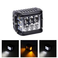 48W LED Zusatzscheinwerfer Offroad Auto SUV bündiger Einbau Stoßstange Lampe 2x