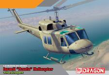 "1/35 Israeli ""Anafa"" Huey UH-1N Helicopter w/ Paratroopers - Dragon DML #3543"