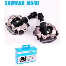 Set of Shimano MTB Mountain Bike Clipless Pedals With SPD Cleats PD-M540