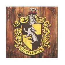 Harry Potter Hufflepuff Crest Wood Wall Art