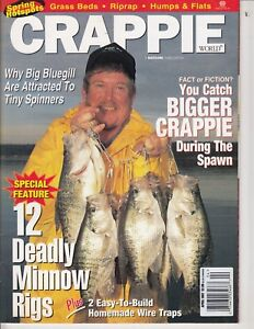 April 1997 CRAPPIE World Magazine - Fishing & Tackle  66 pages / t1