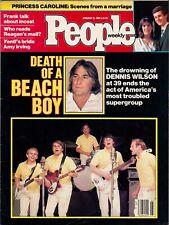 People Magazine January 16 1984 Beach Boys Rod Stewart Roger Daltrey Stan Katz