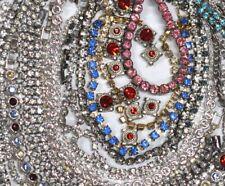 Recent Jewelry Bulk Lot Grab Bag 700-1000 pcs = 150 grams Rhinestones Vintage