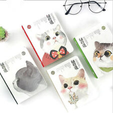"""""""Cat Baby"""" 1pc Cute Hard Cover Diary Study Notebook Travel Journal Pocket Memo"""