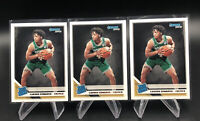 3x CARSEN EDWARDS Boston Celtics 2019-20 PANINI DONRUSS RATED ROOKIE CARD #231