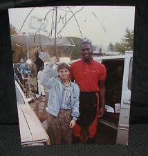 1980's Michael Jordan Signed Autographed Rookie TV Commercial Photo Bulls