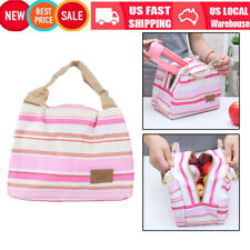 Portable Insulated Thermal Cooler Lunch Box Carry Tote Picnic Case Storage Case