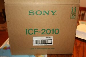 Sony ICF-2010 Radio World Band Receiver VERY LATE SERIAL IN ORIGINAL BOX