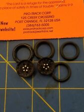 Pro Track #411A Black Top Fuel O-Ring Fronts from Mid-America Raceway