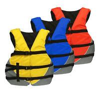 MW Adult Universal Life Jacket USCG Ski Flotation Vest PFD - S M L XL 2X 3X 4X