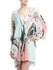 $ 523 DIANE VON FURSTENBERG Fleurette Kimono Dress 6