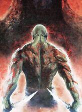 Marvel Guardians of the Galaxy 2014 - Jumbo 5x7 Oversized Box Topper G4 Drax