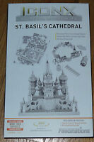 ICONX St. Basil's Cathedral 3D Laser Cut Metal Model Fascinations ICX006