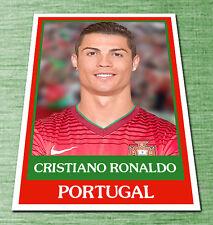 Cristiano Ronaldo A Portugal football soccer card pele maradona ñ panini cards