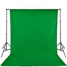 Green Screen Studio Photo Video Background Kit Stand Photography Backdrop Set