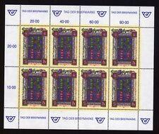 Österreich 2066 Kleinbogen Tag der Briefmarke postfrisch