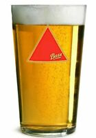 2 x Bass Beer Pint Glasses 20oz Brand New 100% CE Stamped Genuine Official Bar