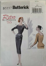 Butterick Retro 1955 Design Sewing Pattern B5557 Top & Skirt Uncut Size 6-12