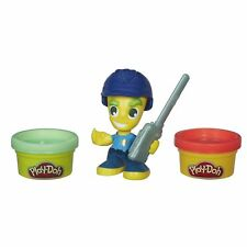 Hasbro Play-Doh Town Police Boy With 2 Cans of Green and Red Play-Doh