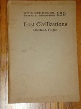 Little Blue Book 150, Lost Civilizations, copyright 1922
