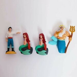 Disney The Little Mermaid Vintage 90s Cake Topper PVC Figures Collectable Lot