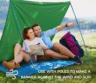 Terra Hiker 70' x 86' Camping Tarp - Tent Footprint, Waterproof Picnic Mat