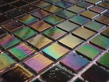 Glasmosaik Fliesen Mosaik PERLMUTT rainbow  2,17 qm !!!