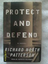 Protect and Defend by Richard North Patterson (2000, 3 Audio Cassettes Abridged)