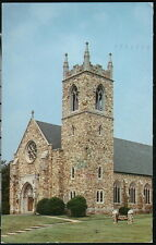 MARYVILLE TN New Providence Presbyterian Church Vintage Town View Old Postcard