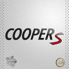 STICKER MINI COOPER S RED CAR COCHE VINILO ADHESIVO PEGATINA DECAL