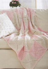 Crochet Pattern ~ X IN A SQUARE BLANKET AFGHAN ~ Instructions