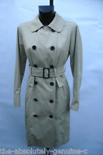 AQUASCUTUM Limited Edition 'MOUNT PALENCIA' Rain Trench Coat BEIGE 18 BNWT £800