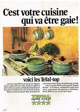 Publicité Advertising 1974 Les casseroles et faitout Tefal-Top