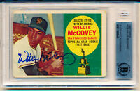 1960 Topps Willie McCovey Rookie HOF Autographed Rookie Card Beckett